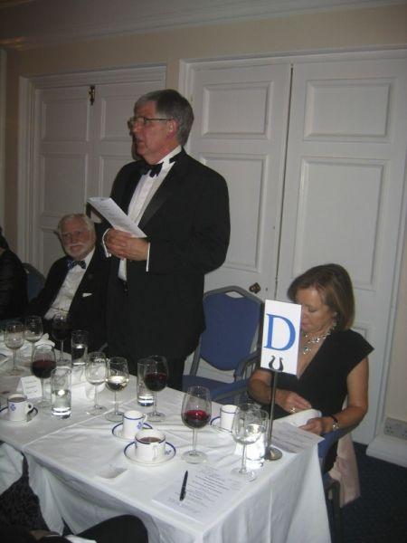 64 Senior VP Barry Mellish proposing the Triple toast