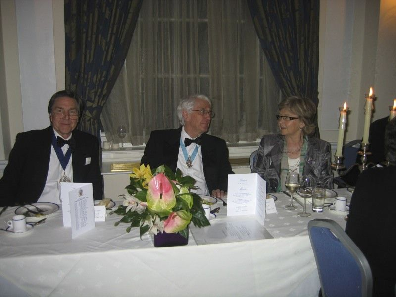 68 The master, president and Dr Liz