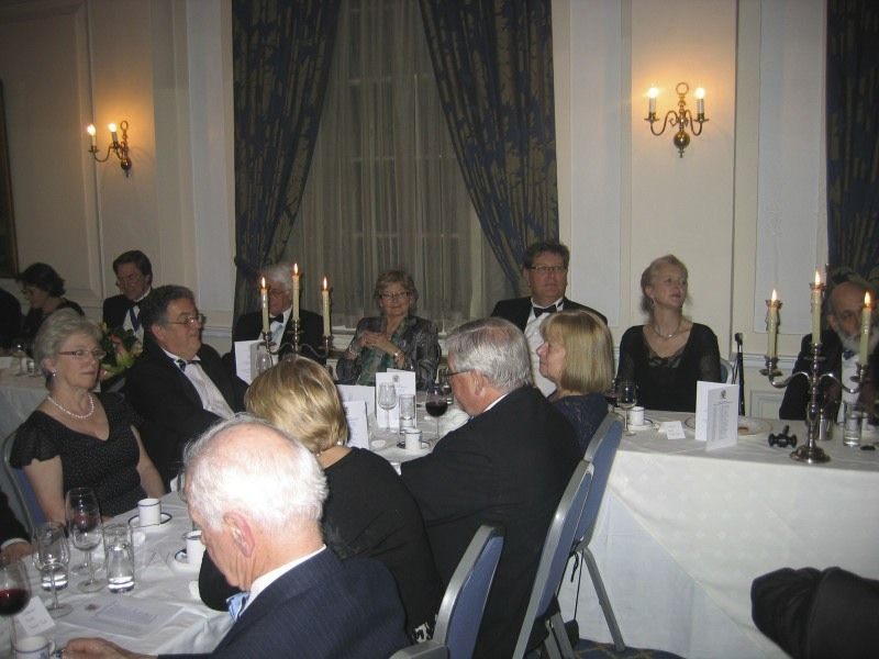 70 The top table